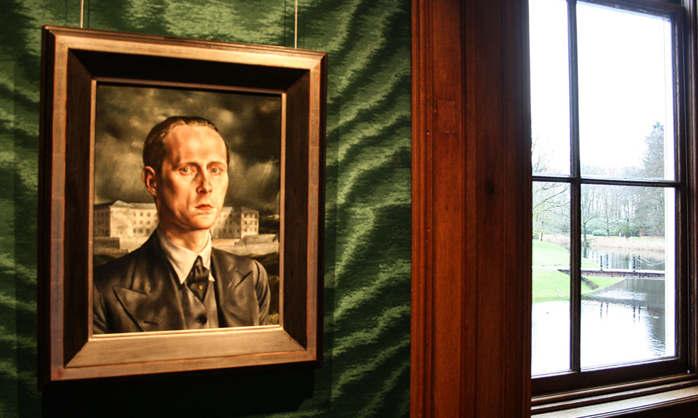 Zelfportret Carel Willink