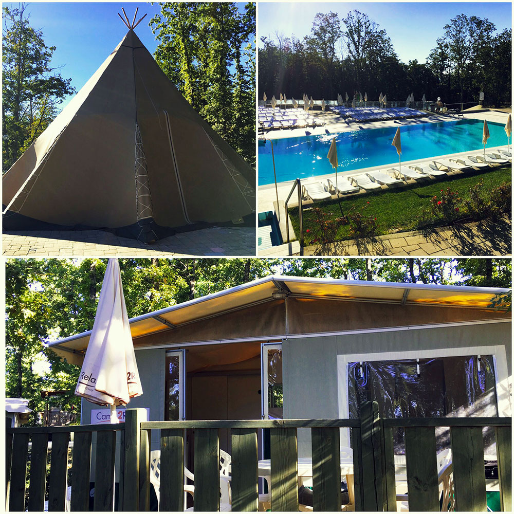 Glamping op camping Orlando in Chianti
