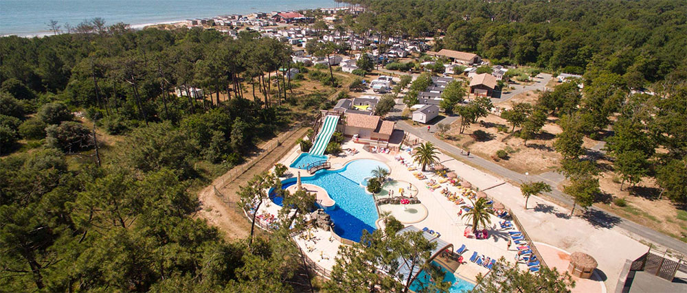 Eenoudercamping Soulac Plage, Aquitaine