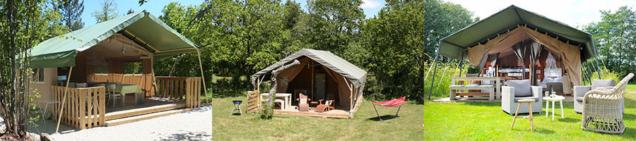 Glamping het ideale compromis