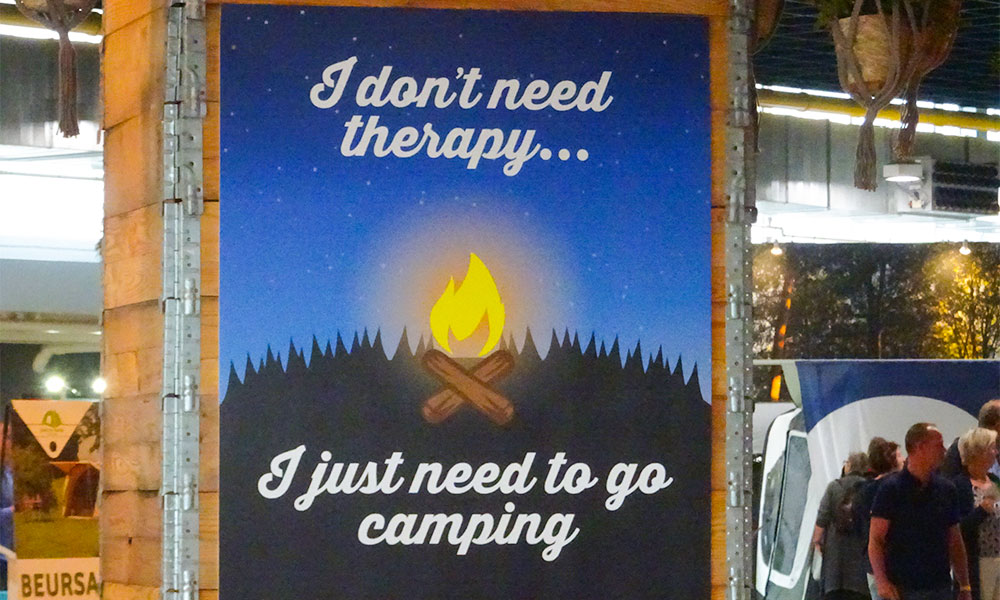 Therapy? Just go camping!