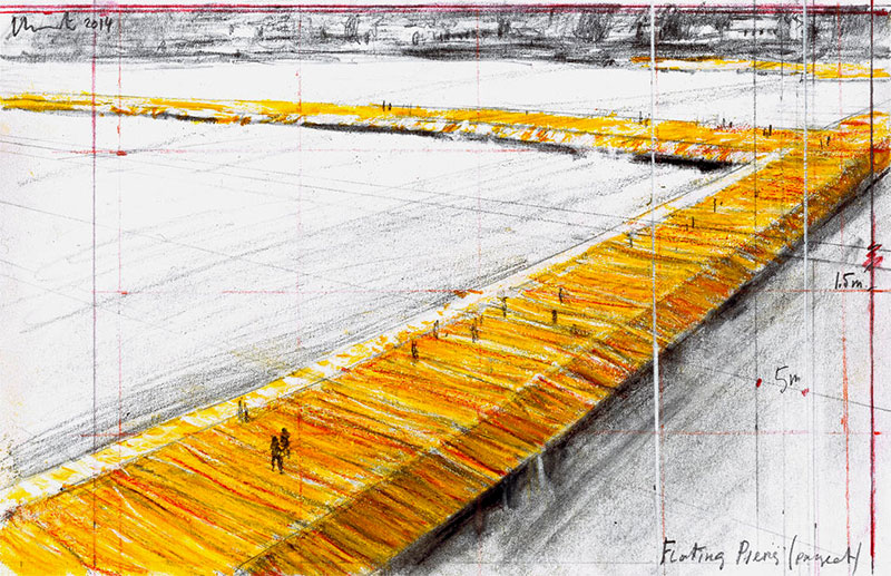 The Floating Piers van Christo