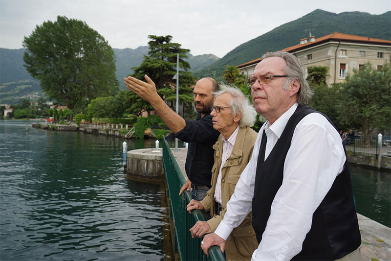 Christo, photo: Wolfgang Volz