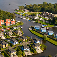 Camping Landal De Bloemert In Midlare Drenthe Stacaravans Tenten