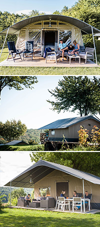 Accommodatie van Country Camp