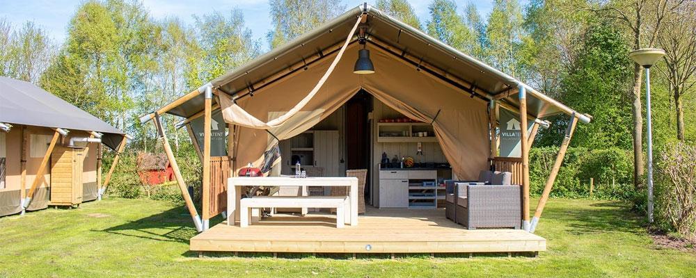 Stacaravans, tenten en glamping in Dalmatië Huurtent.nl