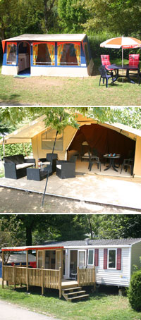 Accommodatie van Happy Tent