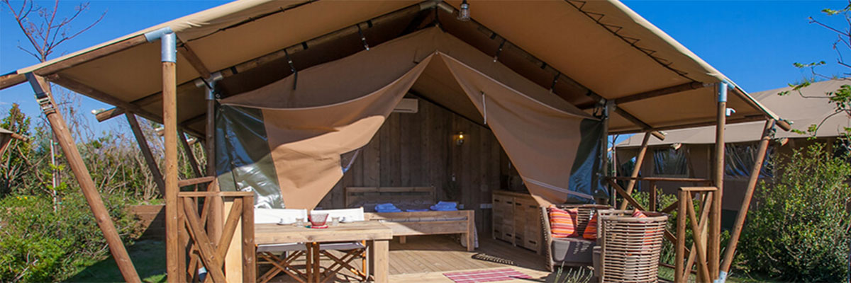 Safaritent van Glamping4all