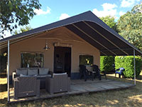 De Lodgetent van Country Camp
