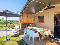 De Lodgetent van Lodge Holidays
